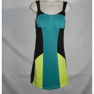 Wishes Wishes Wishes Dress Size 9 Color Block